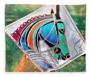 Horse Head Fleece Blanket
