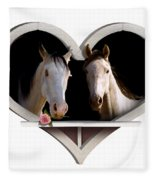 Horse Lovers Fleece Blanket
