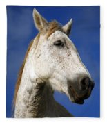 Horse Portrait Fleece Blanket