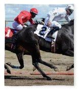 Horse Power 7 Fleece Blanket