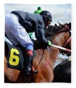 Horse Power 8 Fleece Blanket