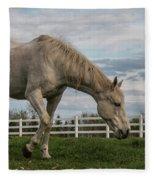 Horses #1 Fleece Blanket
