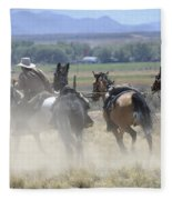 Horse Thief Fleece Blanket