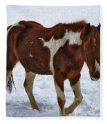 Horse With No Name Fleece Blanket
