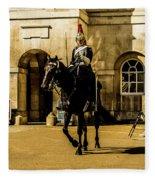 Horseguards. Fleece Blanket