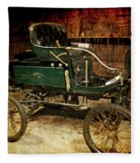 Horseless Carriage Fleece Blanket