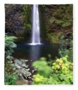 Horsetail Falls Basin Fleece Blanket