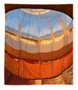 Hot Air Ballon 5 Fleece Blanket