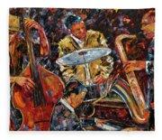 Hot Jazz Series 4 Fleece Blanket