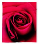 Hot Lips Fleece Blanket