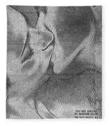 Hot Love Cold War Fleece Blanket