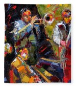 Hot Quartet Fleece Blanket