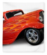 Hot Rod Ford Coupe 1932 Fleece Blanket