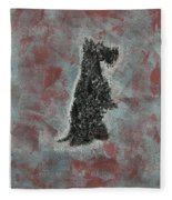 Hot Scottie Fleece Blanket