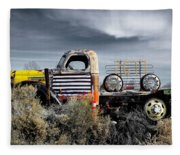 hot springs day-2351-2-R1 Fleece Blanket