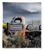 hot springs day-2351-2-R1 Fleece Blanket