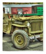 Hotchkiss Jeep Fleece Blanket