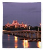 Hotel Don Cesar The Pink Palace St Petes Beach Florida Fleece Blanket
