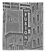 Hotel Fusion Fleece Blanket