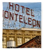 Hotel Monteleone - New Orleans Fleece Blanket