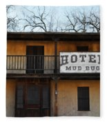 Hotel Mud Bug Paramount Ranch Fleece Blanket