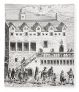 Hotel Of The Chamber Of Accounts In The Fleece Blanket