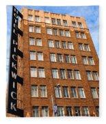 Hotel Pickwick - San Francisco Fleece Blanket
