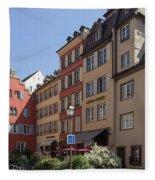 Hotel Suisse Strasbourg France Fleece Blanket