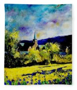 Hour Village Belgium Fleece Blanket