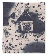 House Of Cards Fleece Blanket