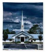 House Of Prayer Fleece Blanket