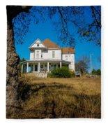 House On The Hill Fleece Blanket
