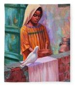 House Pigeon Fleece Blanket