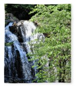 Houston Brook Falls Square Fleece Blanket