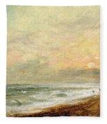 Hove Beach Fleece Blanket