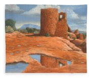 Hovenweep Reflection Fleece Blanket