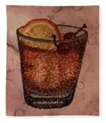 How About An Old Fashioned? Fleece Blanket