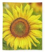 How Do You Dew, Sunflower Fleece Blanket
