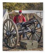 Howitzer Battle Of Honey Springs V3 Fleece Blanket