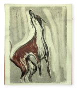 Howling For Joy Fleece Blanket