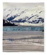 Hubbard Glacier Alaska Wilderness Fleece Blanket