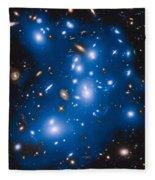 Hubble Sees Ghost Light From Dead Galaxies Fleece Blanket