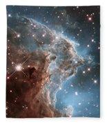 Hubble's 24th Birthday Snap Of Monkey Head Nebula Fleece Blanket