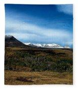 Hudson Bay Divide Fleece Blanket
