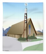 Hudson Community Church Fleece Blanket