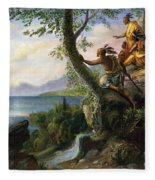 Hudson: New York, 1609 Fleece Blanket