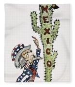 Huerta: Cartoon, C1914 Fleece Blanket