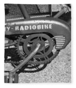 Huffy Radio Bike Fleece Blanket