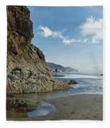 Hug Point Beach Fleece Blanket