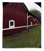 Huge Barn Fleece Blanket